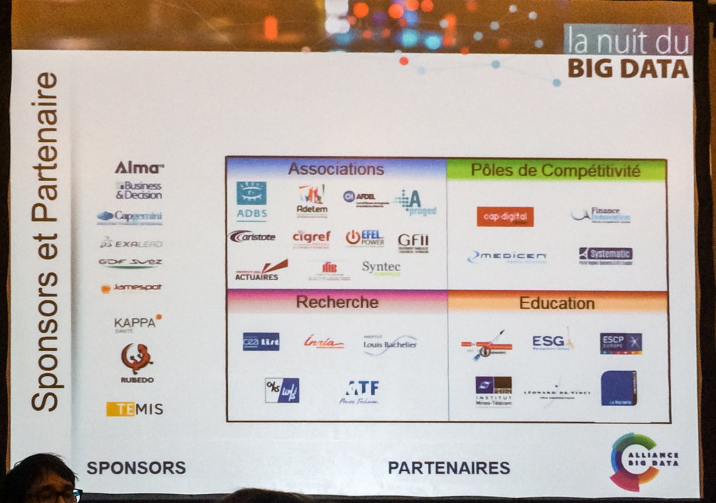Partenaires de la Nuit du Big Data