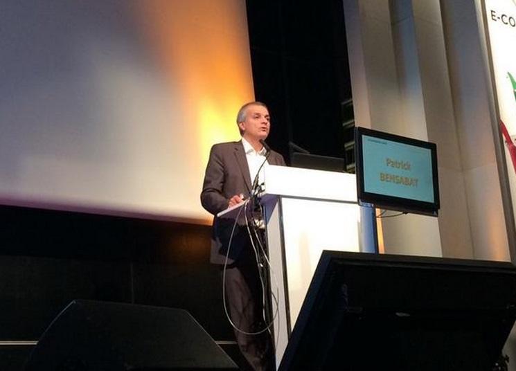 Patrick Bensabat présente la connaissance client à E-commerce Paris 2014