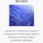 Les formations en Big Data de l'Institut Mines Télécom