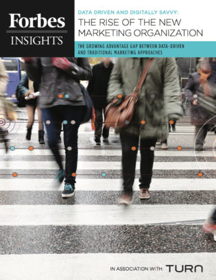 Data Driven and Digitally Savvy: The Rise of the New Marketing Organization