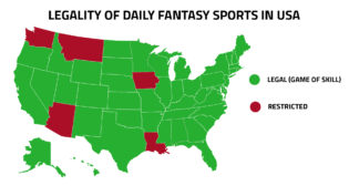 Legality of DFS in USA