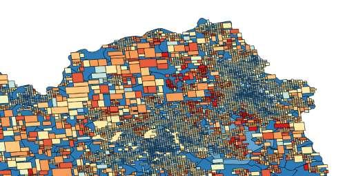 Geomarketing - Average revenues