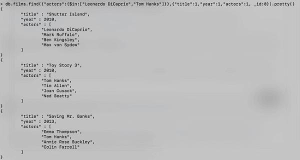 Tutoriel MongoDB: Les requêtes - Part. 1