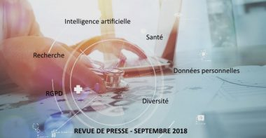 Revue de presse Data & Digital – Septembre 2018