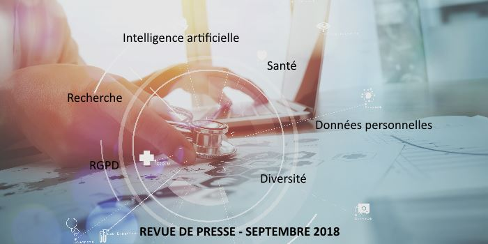 Revue de presse Data & Digital – Septembre 2018
