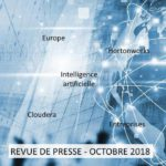 Revue de presse Data & Digital – Octobre 2018
