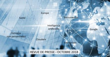 Revue de presse Data & Digital - Octobre 2018
