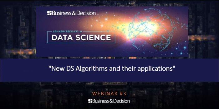 Les nouveaux algorithmes et leurs champs d'application