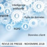 Revue de presse Data & Digital – Novembre 2018