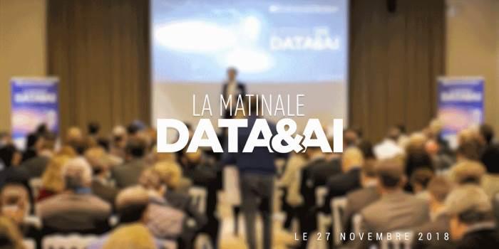Vidéos de la Matinale de la Data & IA - Novembre 2018