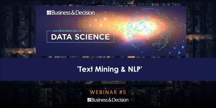 Data Science : Text mining, NLP