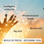 Revue de presse Data & Digital – Décembre 2018