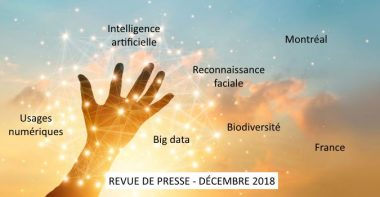 Revue de presse Data & Digital - Décembre 2018