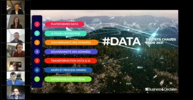 #Data & #IA : nos experts décryptent les sujets chauds pour 2021 [REPLAY]